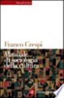 Manuale di sociologia della cultura