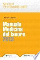 Manuale Medicina del lavoro 2013