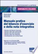 Manuale pratico del bilancio d'esercizio e nella nota integrativa