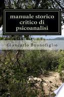 Manuale Storico Critico Di Psicoanalisi