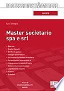 Master societario Spa e Srl