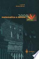 matematica e cultura 2000