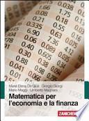 Matematica per l'economia e la finanza
