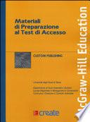 Materiali di preparazione al test di accesso