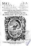 Matrimonio, e vita vedouile, del sig. c.a. Bernardo Trotto. Di nuouo ristampati ...