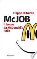 McJob. Il lavoro da McDonald's Italia