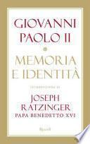 Memoria e identità