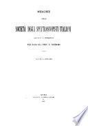 Memorie della Società astronomica italiana (già degli spettroscopisti) ...