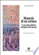 Memorie di un recluso