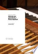 Metodo per pianoforte / Piano Method