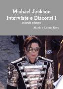 Michael Jackson Interviste e Discorsi seconda edizione