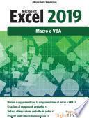 Microsoft Excel 2019 - Macro e VBA