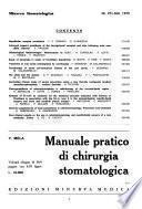 Minerva stomatologica