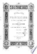 Miscellanea francescana di storia, di lettere, di arti