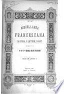 Miscellanea Francescana