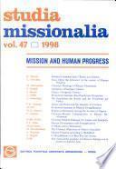 Mission Et Progrès Humain