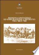 Mondo contadino ed emigrazione a Bitritto tra '800 e '900