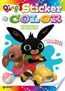 Mondo di giochi. Sticker & color. Bing. Con adesivi. Ediz. a colori