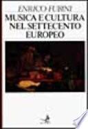 Musica e cultura nel Settecento europeo