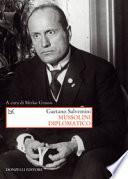 Mussolini diplomatico