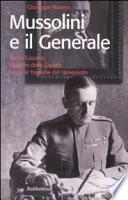 Mussolini e il generale