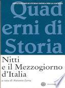 Nitti e il Mezzogiorno d'Italia