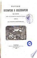 Notizie biografiche e bibliografiche degli scrittori del dialetto napolitano compilate da Pietro Martorana