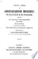 Nouva guida de conversazioni moderne in Francese e in Italiano