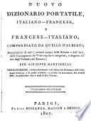 Nouveau dictionnaire de poche, françois-italien, et italien-français0