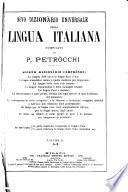 Nòve dizionàrio universale della lingua italiana
