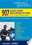 Novecentosette allievi agenti nella polizia di stato