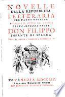 Novelle della repubblica delle lettere [Pubblicate per cura di Ang. Calogera, Franc. Cendoni e Medoro Rossi]