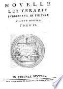 Novelle Letterarie pubblicate in Firenze ...