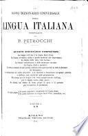 Nòvo dizionàrio universale della lingua italiana