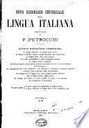 Novo dizionario universale della lingua italianag