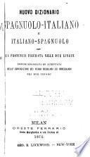 Nuevo diccionario italiano-espanol y espanol-italiano ...