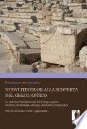 Nuovi itinerari alla scoperta del greco antico