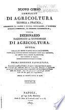 Nuovo corso completo di agricoltura teorica e pratica