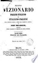Nuovo Dizionario Inglese-Italiano ed Italiano-Inglese