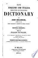 Nuovo dizionario inglese-italiano ed italiano inglese