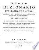 Nuovo dizionario Italiano-Francese