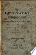 Nuovo dizionario piemontese-italiano ragionato e comparato alla lingua comune