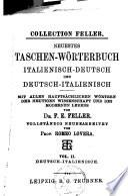 Nuovo dizionario portatile Italiano-Tedesco, Tedesco-Italiano, arrichito d'una gran quantità di vocaboli relativi al commercio, alle srade, ferrate e ai vapori