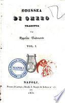 Odissea di Omero tradotta da Ippolito Pindemonte