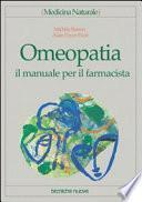 Omeopatia. Il manuale per il farmacista