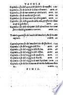 Opera Nuova Nella quale ... il vero regimento ... sopra il giuoco delli Scacchi (etc.)