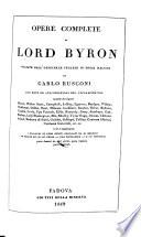 Opere Complete Di Lord Byron