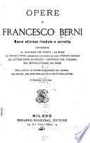 Opere di Francesco Berni