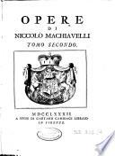 Opere di Niccolò
