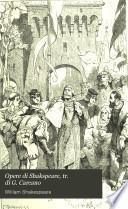 Opere di Shakspeare, tr. di G. Carcano